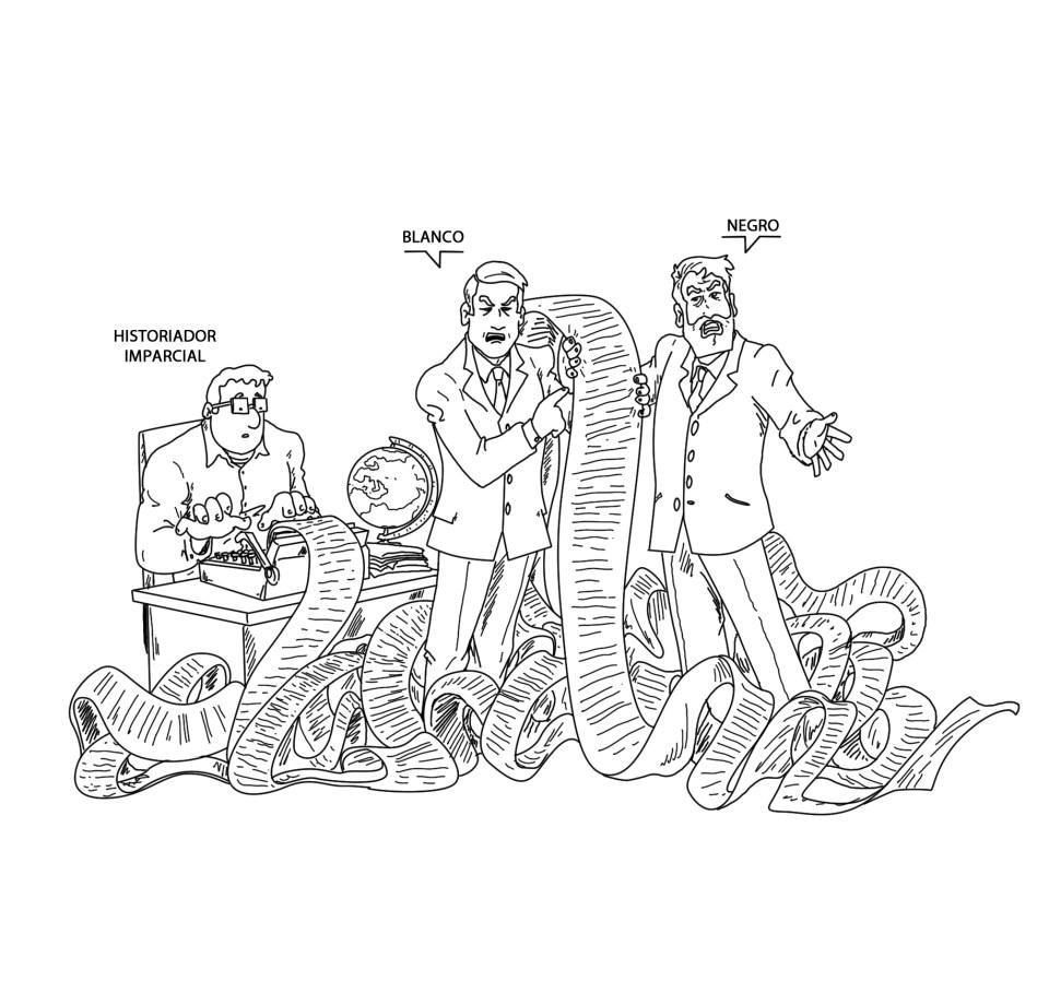 'Interpretaciones exquisitas'. Ilustración de Jesús Sánchez Daimiel.