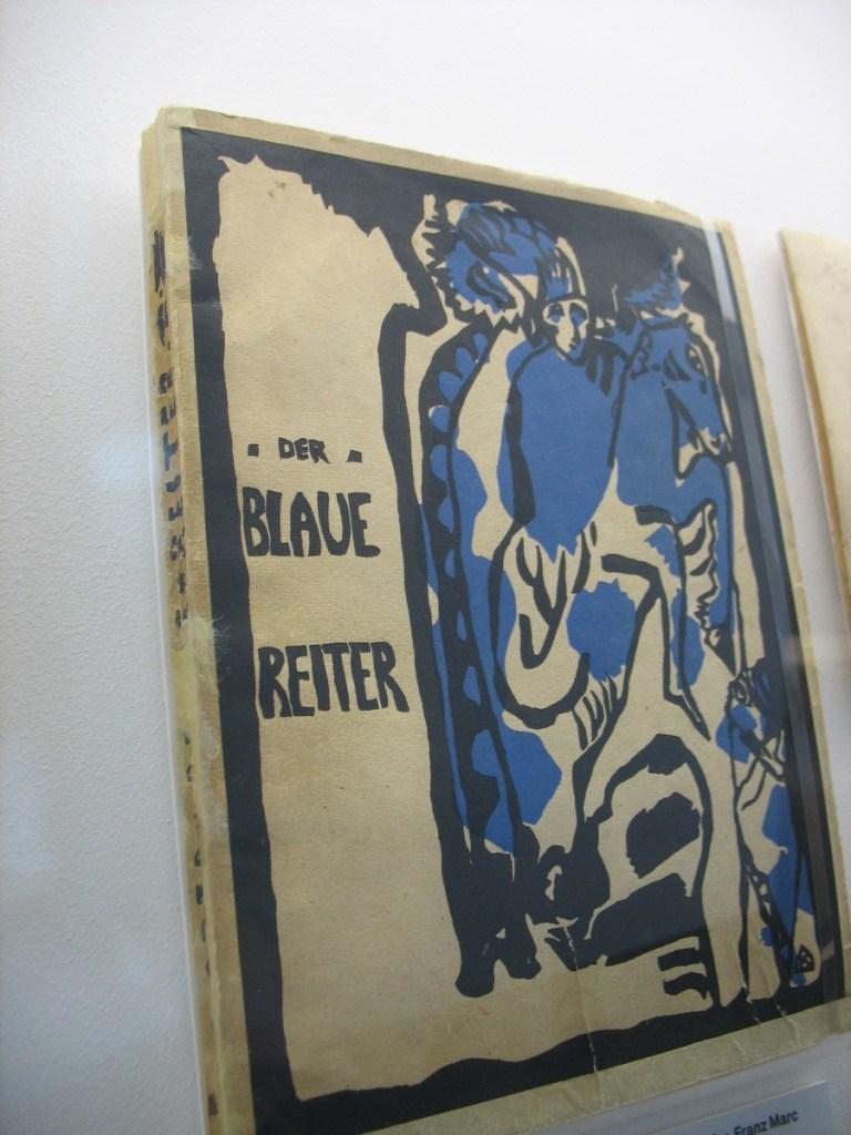 Kandinsky. El Jinete Azul (1911). Wikimedia