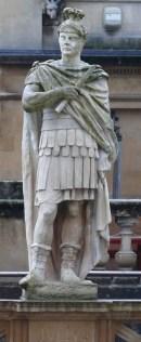 Estatua de Cneo Julio Agrícola, gobernador de Britania que fue protagonista de la conquista de la isla. (Wikimedia)