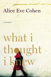 What I thought I knew, a Memoir by Alice Eve Cohen on Flickr #DES #Pregnancy