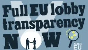 Full EU lobby transparency now