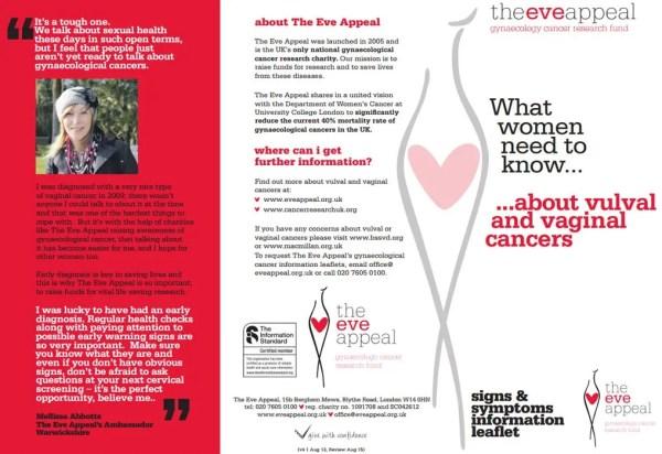 Vaginal Cancer Information Leaflet