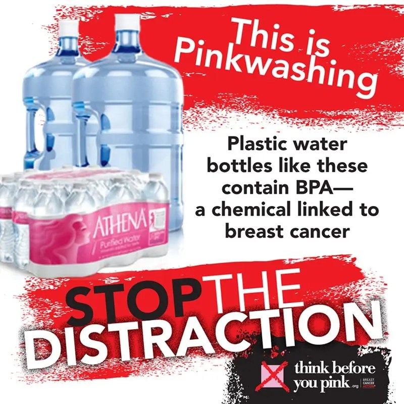 BPA and PinkWashing poster