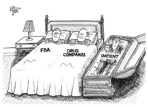 fda-in-bed cartoon image