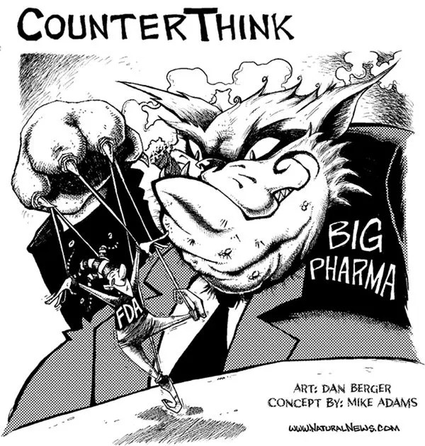 The-FDA-and-Big-Pharma cartoon