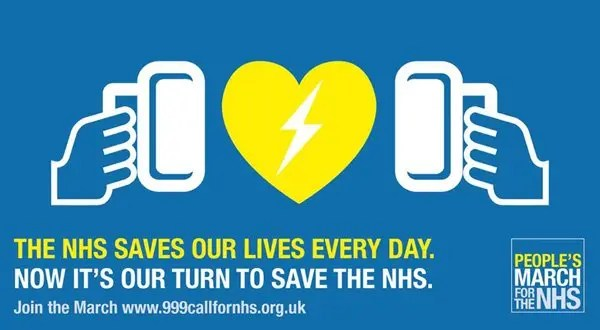 March-for-The-NHS poster