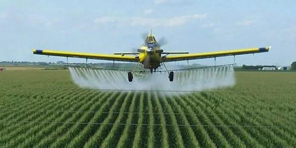 Glyphosate-spraying image