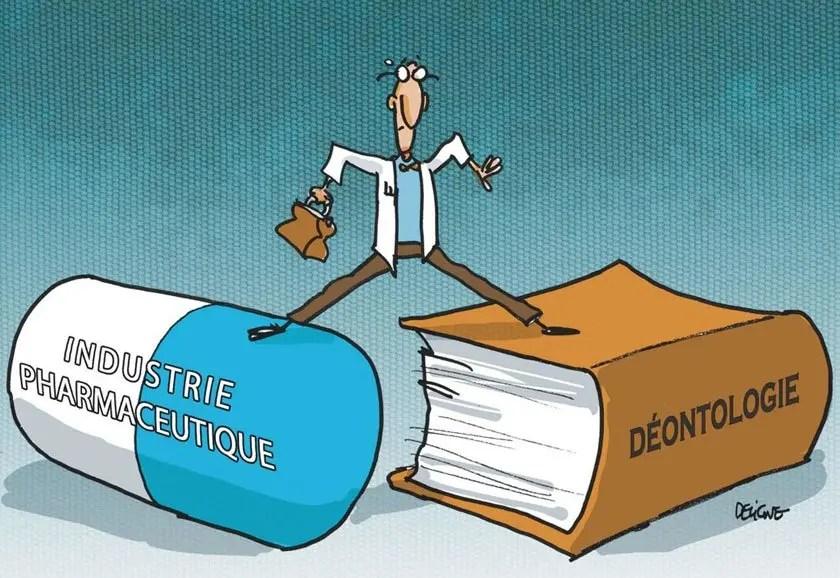 Médecins, Laboratoires, et les Conflits d'Intérêts