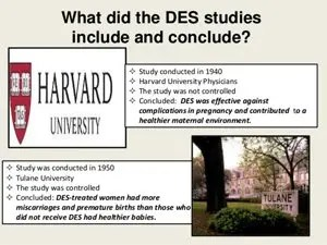 Diethylstilbestrol Studies with Ethical Violations
