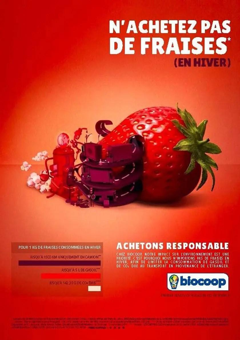 Des fruits toute l'année : n'achetez pas de fraises (en hiver)