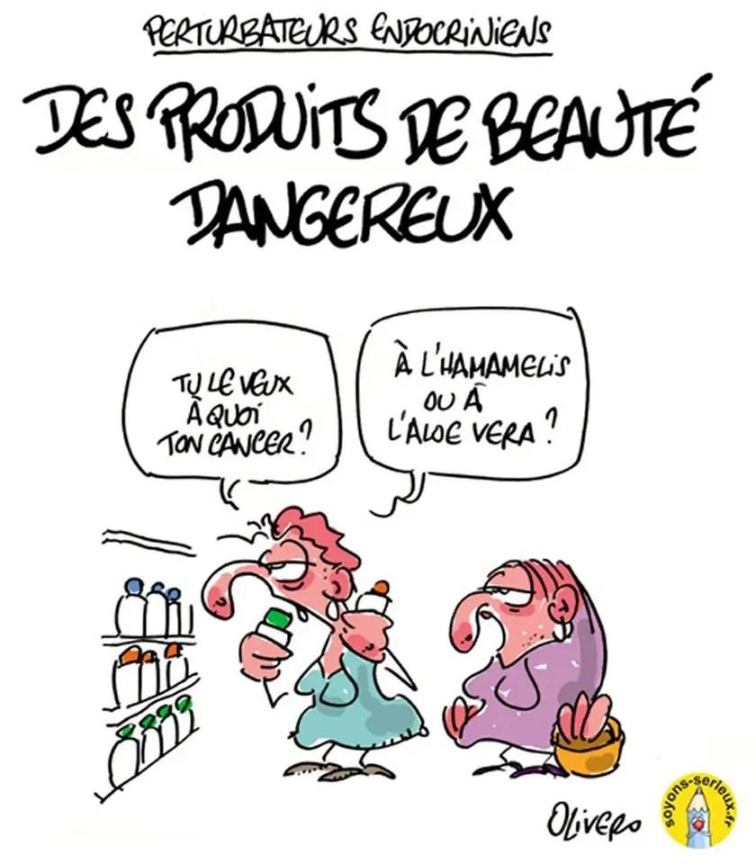 Produits de beauté dangereux