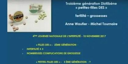 Petites-filles DES : malformations utérines, fertilité, reproduction