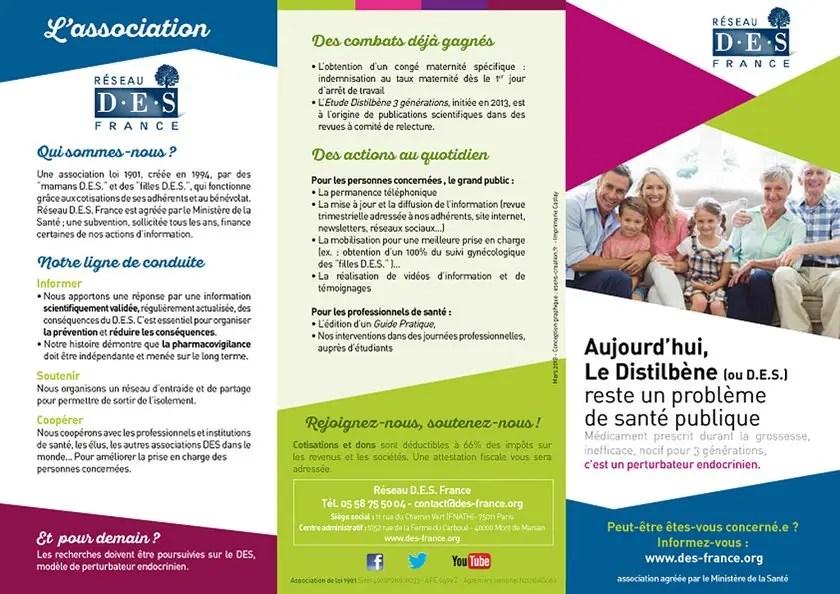 Dépliant Réseau DES France 2018 (page 1)