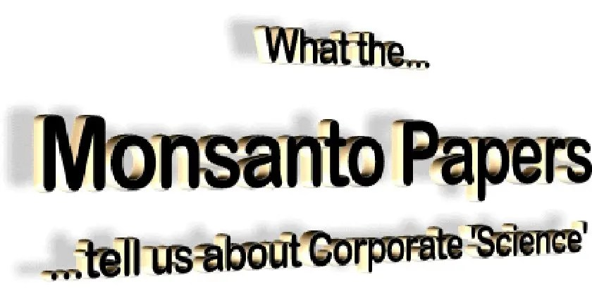 The corruption of science by the industry (agrochemical)
