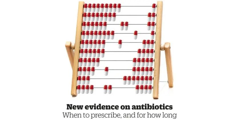Shorter courses will help reduce unnecessary use of antibiotics
