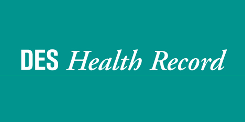 DES Health Information Record for Men and Women