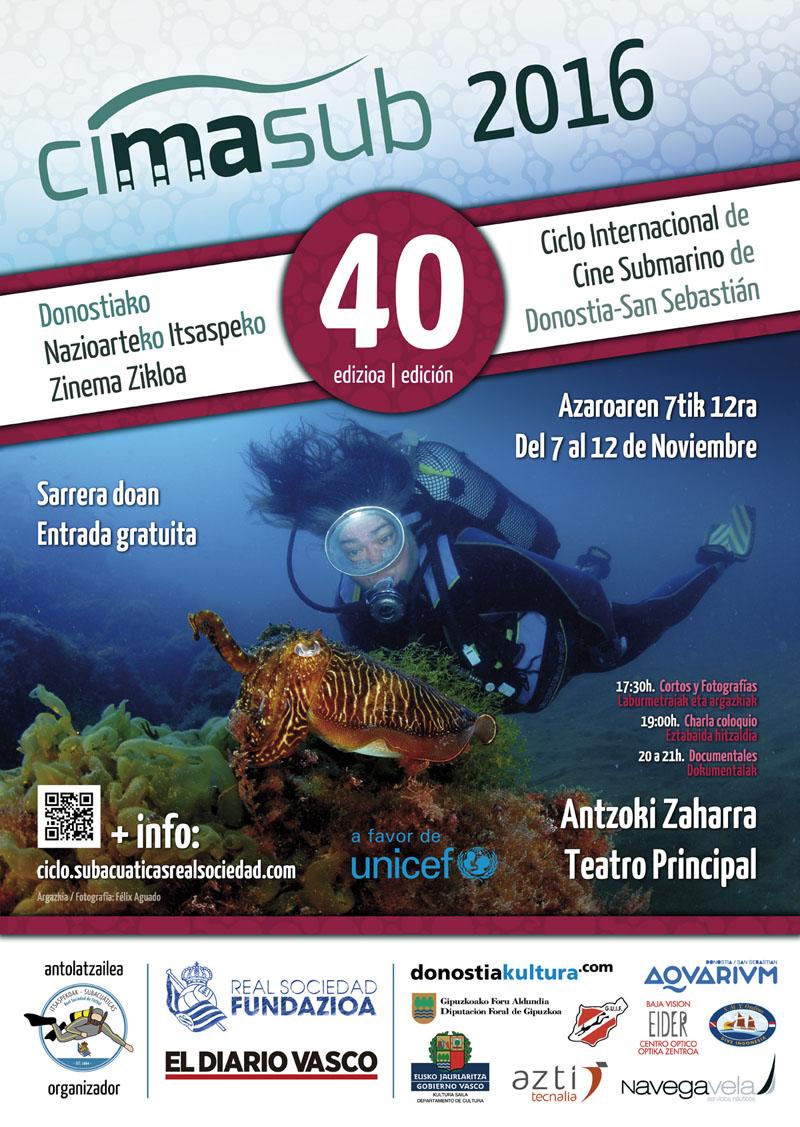 Cartel del CIMASUB 2016