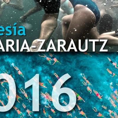 Portada travesía Getaria Zarautz 2016 desde dentro