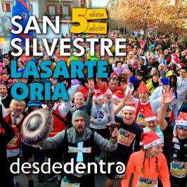 5ª San Silvestre Lasarte-Oria desde dentro