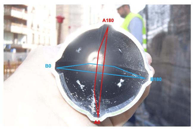 tuberíainclinométrica, inclinómetro, instrumentación, laderas, deslizamientos, control,procedimiento