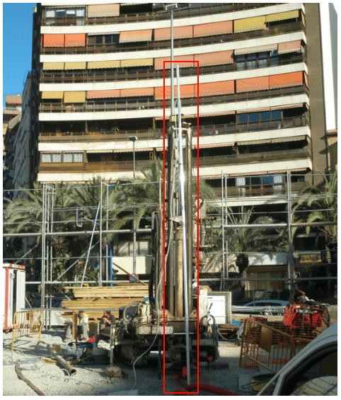 tuberíainclinométrica, inclinómetros, instrumentación, laderas, deslizamientos, control,procedimiento