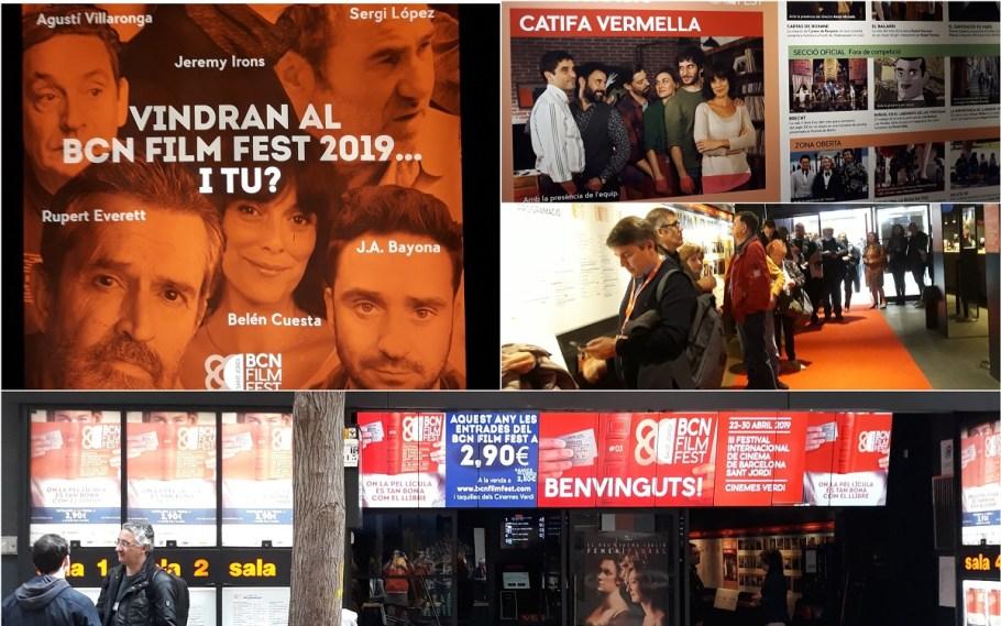 Momentos del Festival Internacional de Cinema de Barcelona-Sant Jordi 2019