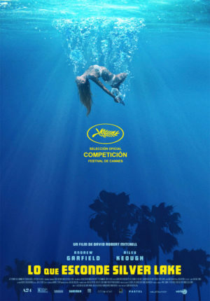Lo que esconde Silver Lake - cartel de cine