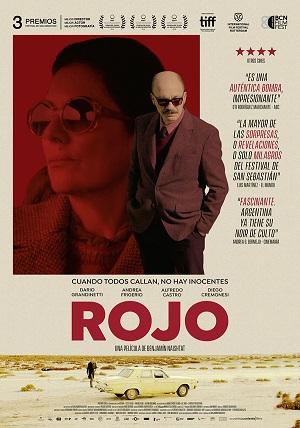 Rojo - cartel de cine
