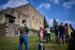 Excursión al castillo de Montesquiu