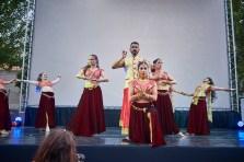 Bailes indios den el Fesnits 2019