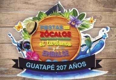 Agenda de las Fiestas de los Zócalos el turismo y el Embalse.