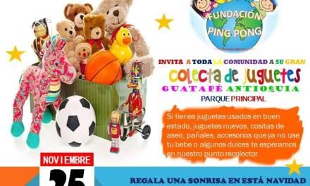 Jornada de recolección de juguetes para los más necesitados