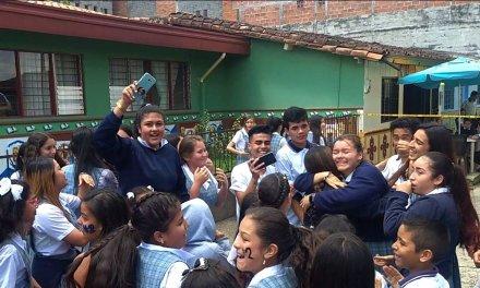 Los alumnos de la Institución Educativa de Guatapé eligieron a sus representantes