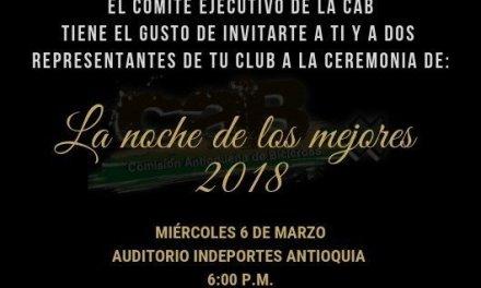 Club deportivolos Halcones de Guatapé nominado como mejor club del año 2018