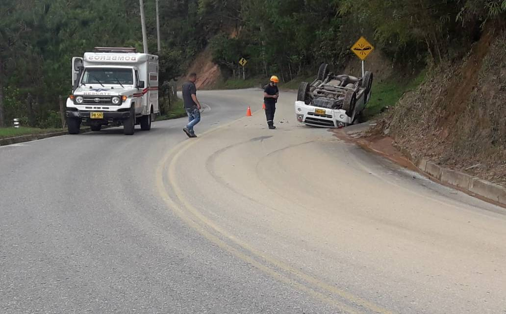 Algunas accidentes de transito atendidos por el cuerpo voluntarios del municipio de Guatapé
