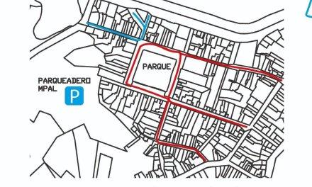 La peatonalización de la zona céntrica de Guatapé en la semana santa