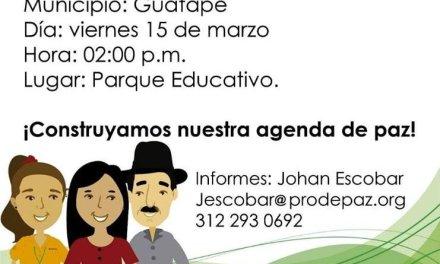 Reactivación del concejo de paz, reconciliación y convivencia en Guatapé