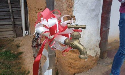 Agua potable llega a la zona rural de El Peñol