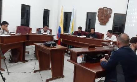 Proyectos de acuerdo analizados en el Concejo Municipal