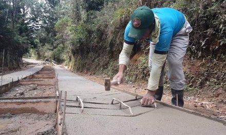 90% de vías rurales de Guatapé están pavimentadas