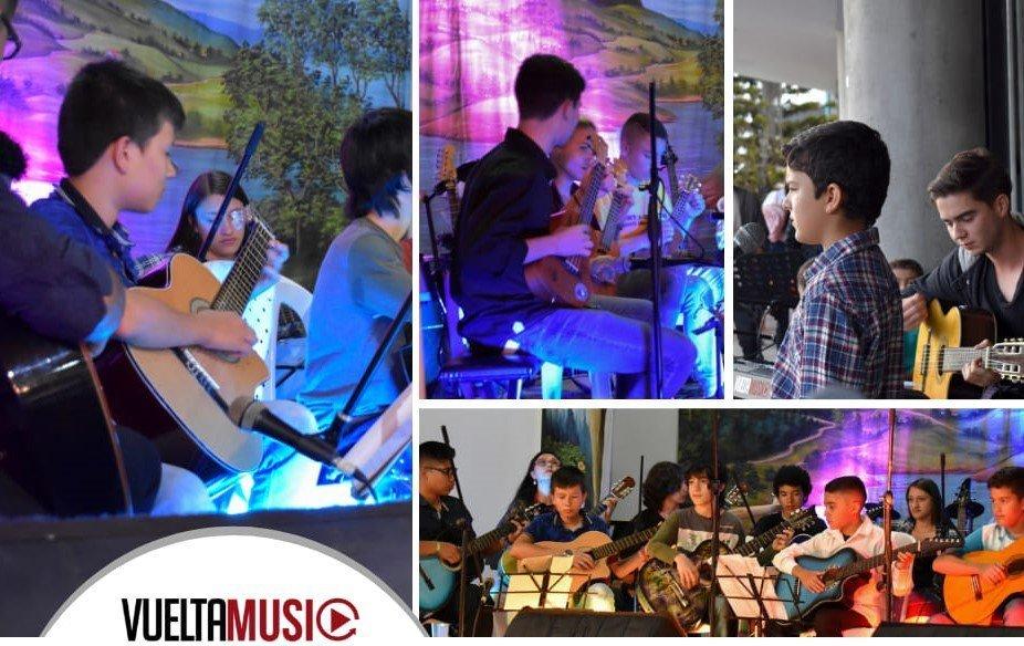 La academia Vuelta Music cumple 3 años de brindar formación músical