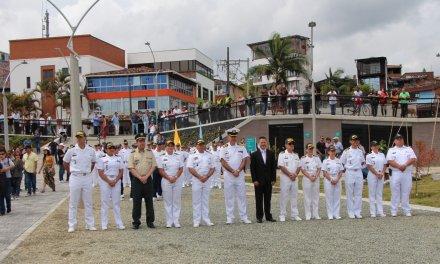 La reserva de la Armada Nacional se establece en Guatapé.