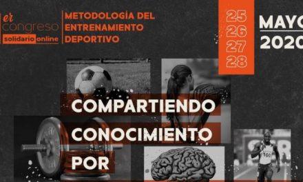 ¡Inscríbete! Congreso sobre Metología del Entrenamiento Deportivo en beneficio de las familias de Guatapé