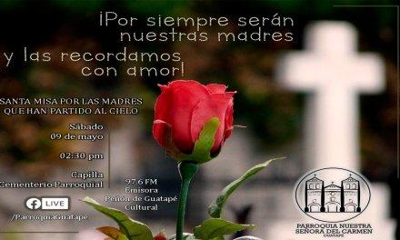 Eucaristía por las madres difuntas (sábado 09 mayo)
