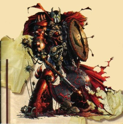 Medieval Spawn, anterior a Simmons