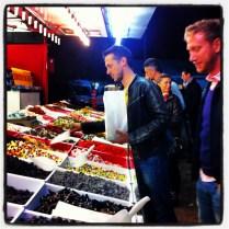 Tienda de golosinas en la carpa de la Campagnola