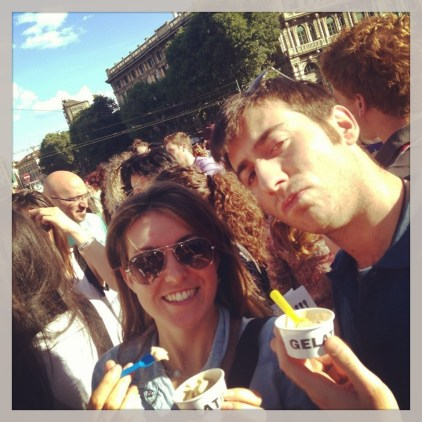 Degustando sabores - Festival del helado en MIlán