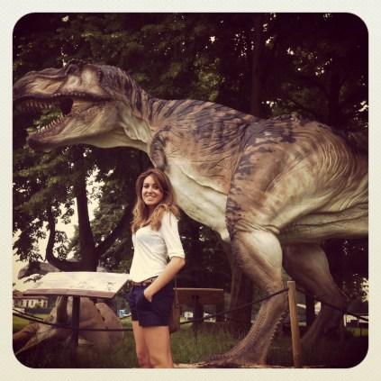 Los dinosaurios en el Parco di Monza
