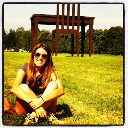 Parco di Monza y su silla