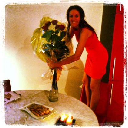 Mis rosas!